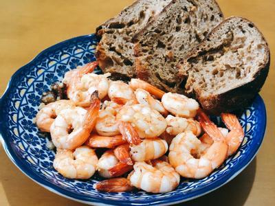 【早午餐】 西班牙蒜蝦(GAMBAS)
