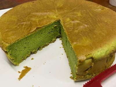 绿茶海绵蛋糕