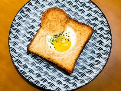 【早午餐】芝士蛋包吐司