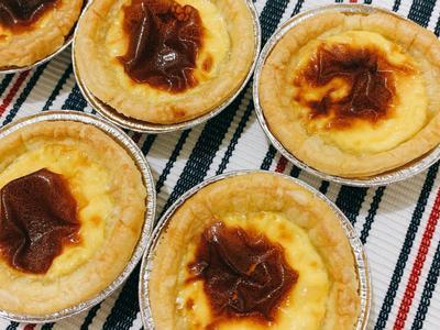 低糖版氣炸葡式蛋撻🥧的照片