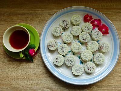 只要2種材料,製作好吃又好看的養生山藥糕