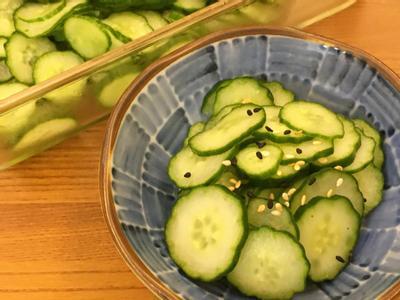 醋溜小黃瓜