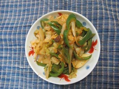 豆豉青椒福菜
