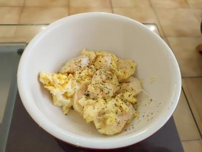 【低卡料理】滑蛋蝦仁