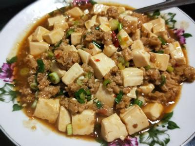 麻婆豆腐with OMN!新豬肉