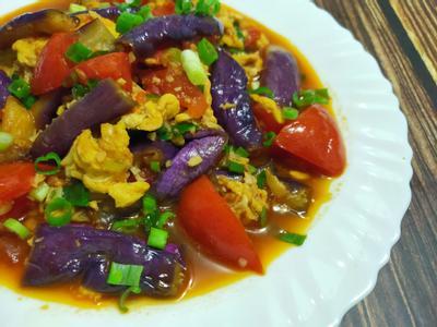 lanni 紫紅雙茄炒蛋