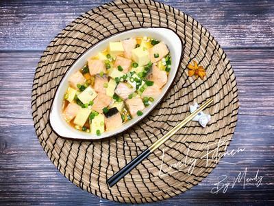 骰子鮭魚豆腐【全聯】