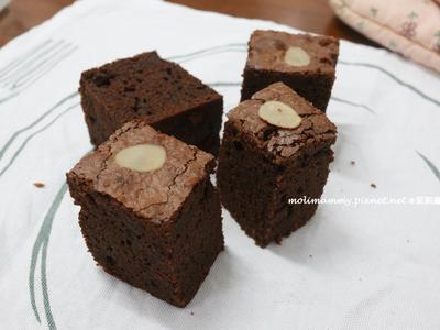 軟心巧克力布朗尼(茉莉麻親子廚房)