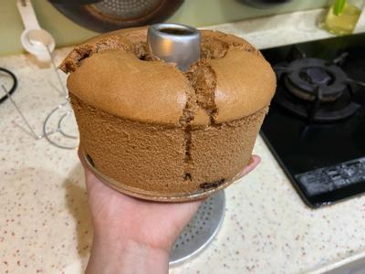 氣炸烤戚風巧克力蛋糕🍰
