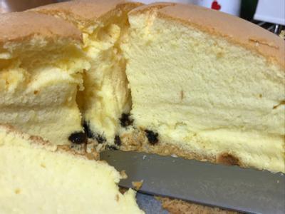 葡萄乾戚風蛋糕