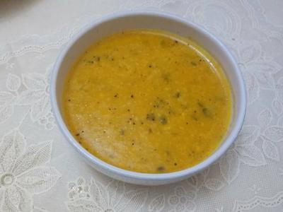 南瓜波特菇濃湯