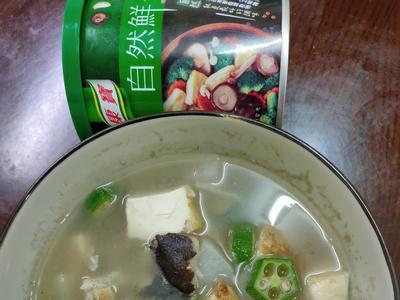 秋葵蘿蔔豆腐湯