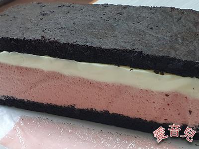 布朗尼草莓慕斯奶凍(上集)