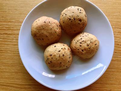 黑糖麻糬米麵包🥯偽韓國麵包🥯無麩質