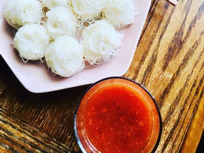 冷「麵」配番茄沾汁