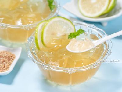 自製蜂蜜檸檬愛玉