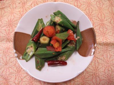 日式蕃茄秋葵