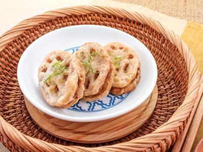【厚生廚房】氣炸蓮藕肉餅