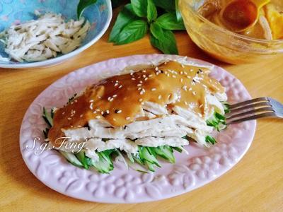 麻醬黃瓜雞絲