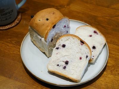 藍莓乾吐司。簡易吐司食譜!