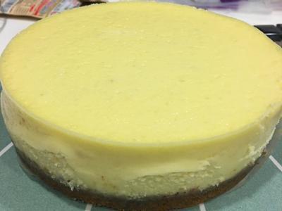 水浴法👉經典紐約重乳酪蛋糕