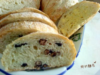 【烘培筆記】免揉。鄉村麵包
