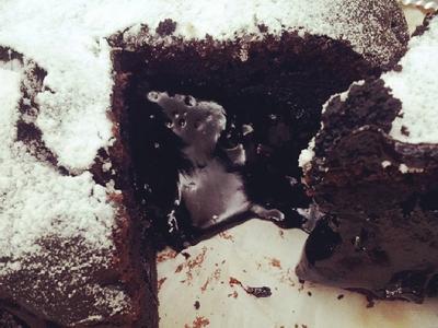 爆漿布朗尼 Brownie Cake