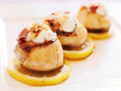 鮮嫩多汁-香煎扇貝