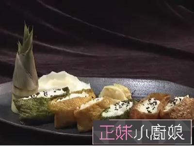 稻香風味 夏日綠竹稻荷壽司