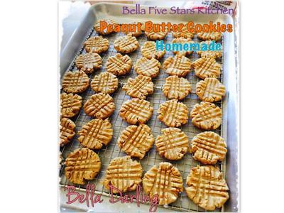 [Bella五星級廚房]奶油花生醬餅乾