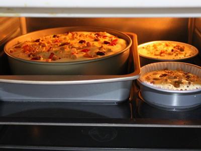 烤箱預熱150度, 水浴法, 烤60分