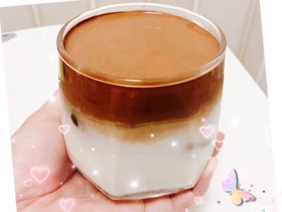 ❤️韓國火紅400次咖啡(濃稠落下的瞬間的照片