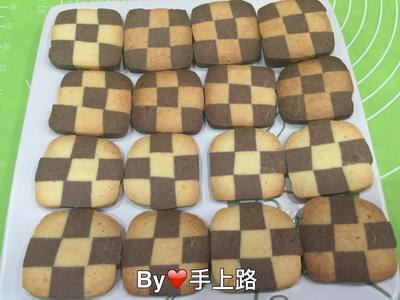 簡單做🍫巧克力格子餅乾🍫