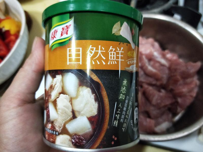 康寶自然鮮 - 嫩雞風味調味料 好味道開箱!的第 1 張圖片