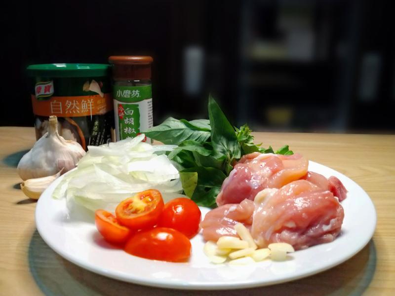 各式料理調味的好幫手-康寶自然鮮(嫩雞風味)的第 3 張圖片