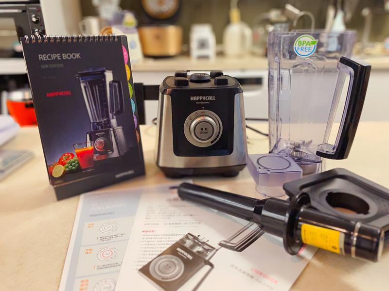 超強馬力擊碎萬物:Happycall冷熱調理機的第 1 張圖片