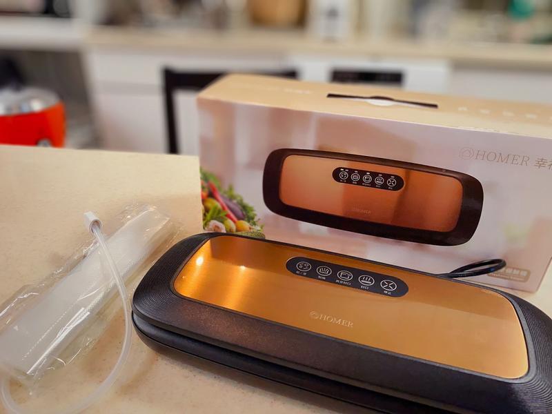 新時代食物保鮮魔術~HOMER 二合一食物真空保鮮機的第 1 張圖片