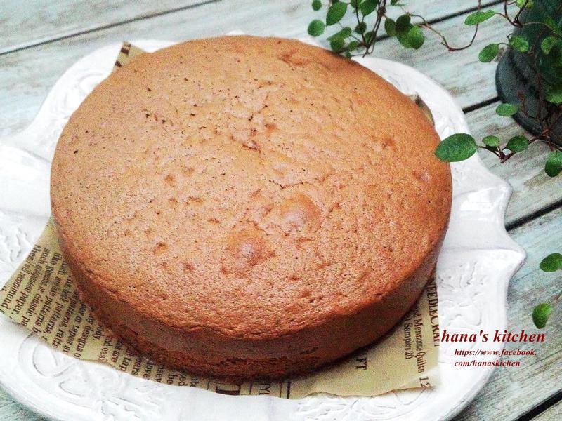 日式基礎巧克力海綿蛋糕
