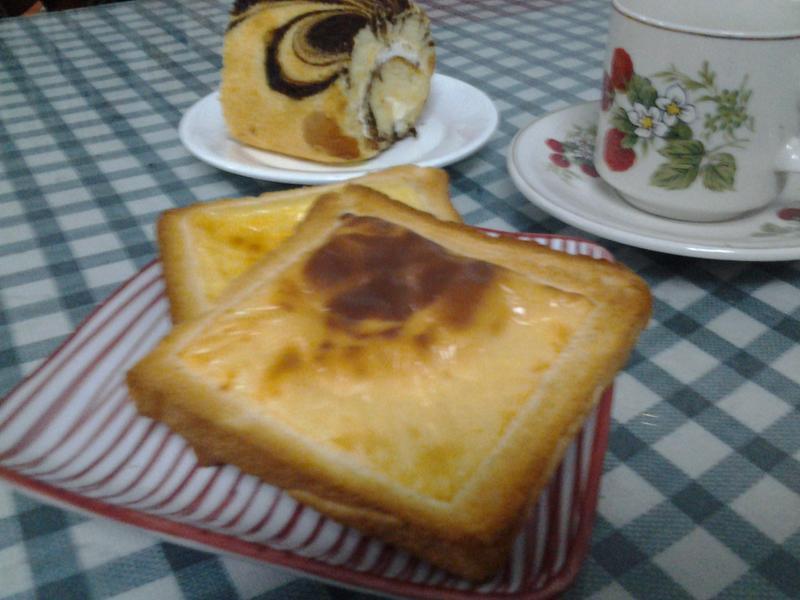 起司烤面包【超简易❤零失败】