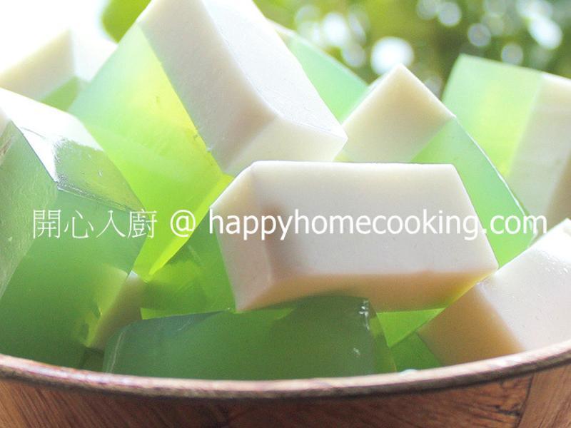 椰汁班蘭大菜糕 ~ 冰涼爽脆