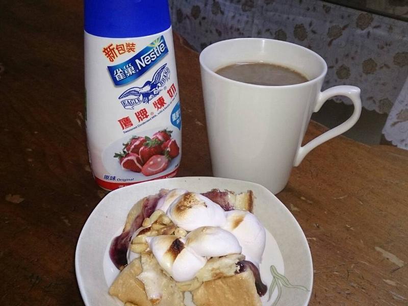 DIY美味草莓吐司(鷹牌煉奶)