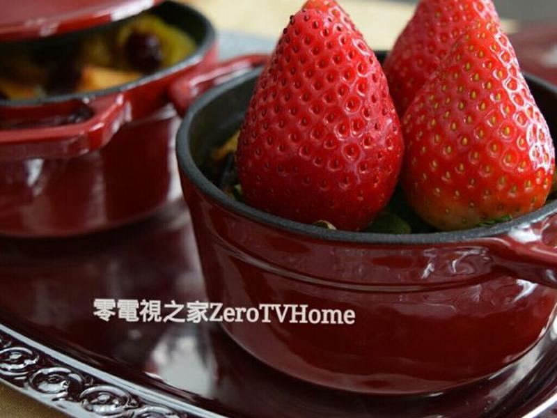 大同電鍋點心:莓果麵包布丁★零電視之家★