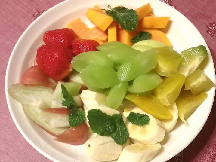 低卡清爽蔬果拼盤