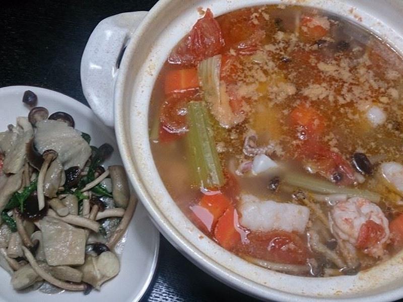 簡單羅宋海鮮湯