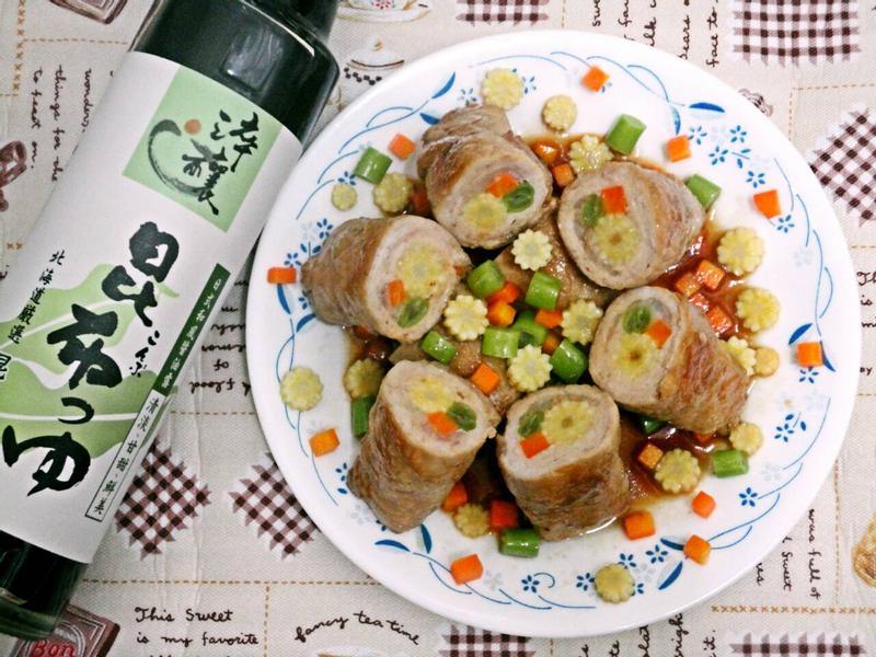 醬燒鮮肉捲『淬釀開運年菜』
