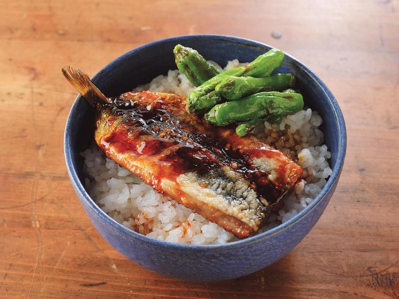 健康低卡蓋飯/辣味蒲燒沙丁魚蓋飯/