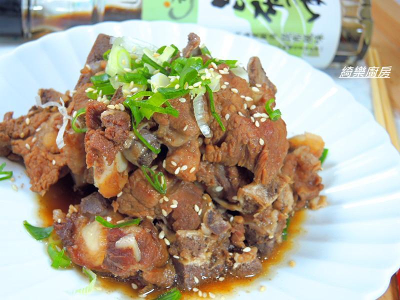 日式風味焦糖排骨✿淬釀開運年菜