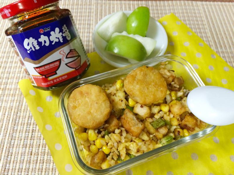黃金蛋炒飯[維力炸醬]