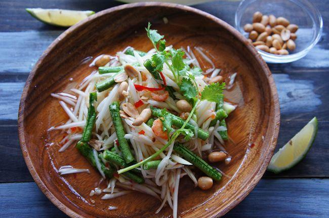 VIVI 超簡單泰式涼拌青木瓜絲