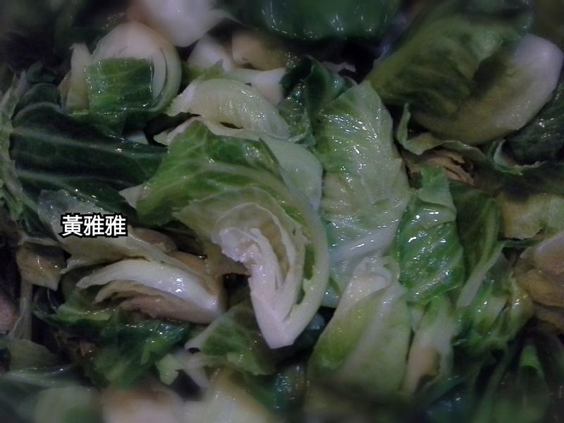 炒高麗菜苗